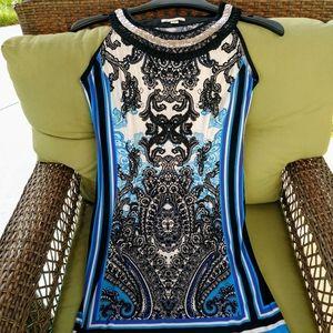 Stunning Dress w/ Neck Embellishments!
